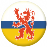 Limburg Region Flag 58mm Mirror